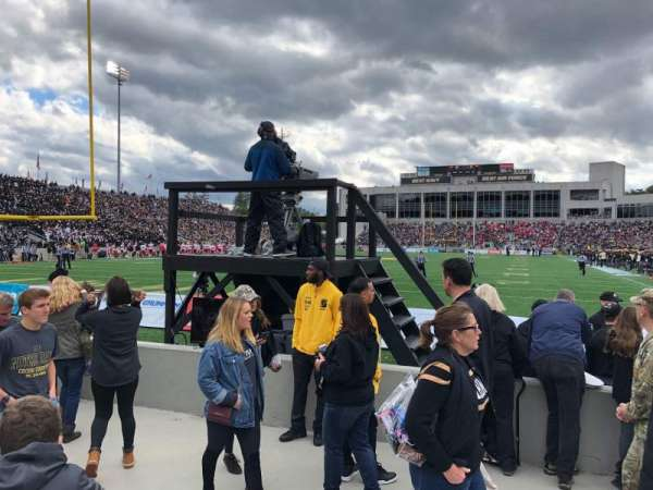 Michie Stadium, sección: 20, fila: E, asiento: 7and8