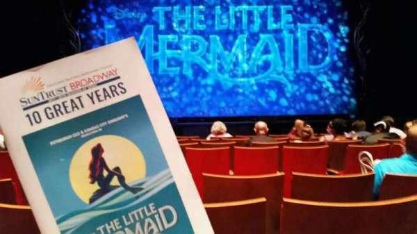 Durham Performing Arts Center, sección: 3, fila: H, asiento: 111