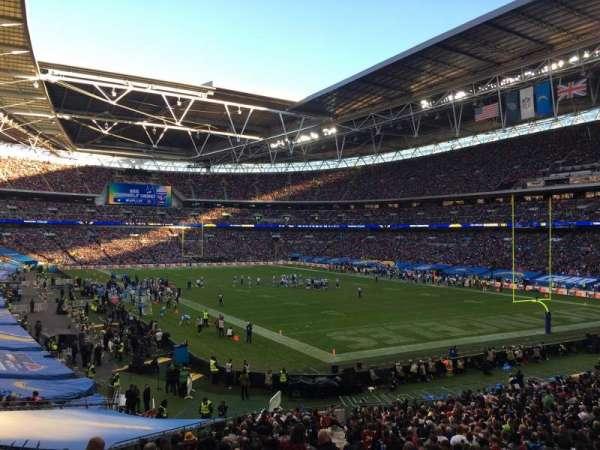 Wembley Stadium, sección: 137, fila: 41, asiento: 110