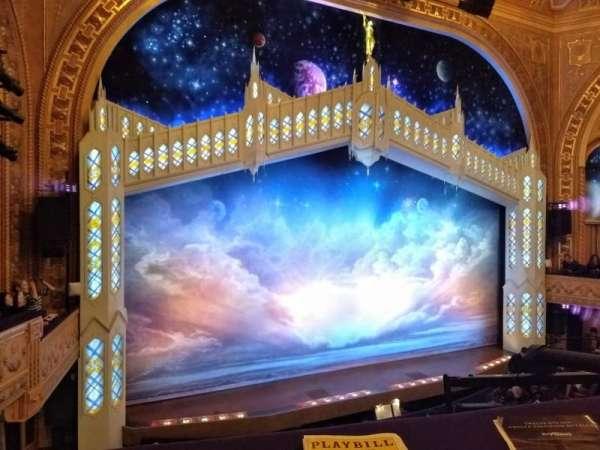 Eugene O'Neill Theatre, sección: Mezzanine Left, fila: A, asiento: 9and11