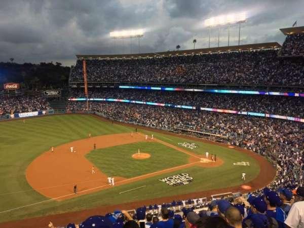 Dodger Stadium, sección: 23RS, fila: K, asiento: 17