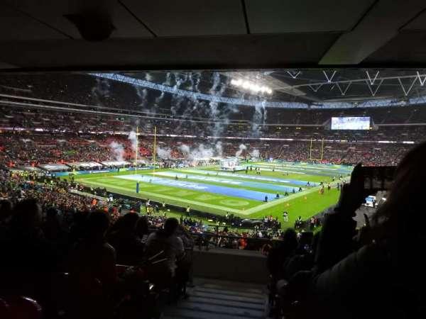 Wembley Stadium, sección: 130, fila: 44, asiento: 218
