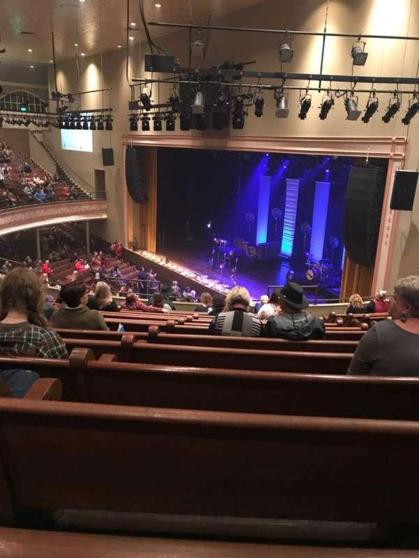 Ryman Auditorium, sección: BAL-10, fila: N, asiento: 5