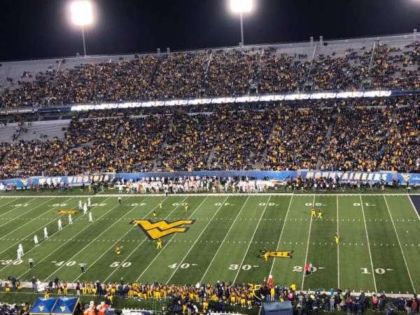 Mountaineer Field, sección: 219, fila: 31, asiento: 113
