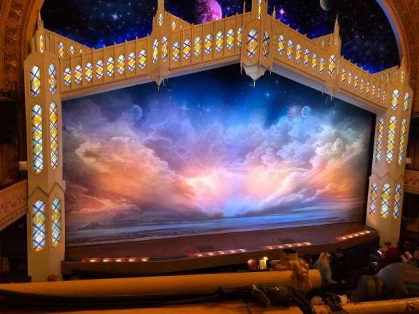 Eugene O'Neill Theatre, sección: Mezzanine, fila: A, asiento: 3