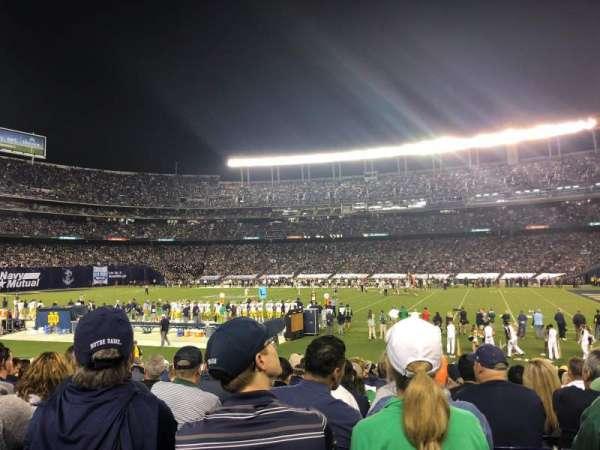 SDCCU Stadium, sección: F9, fila: 21, asiento: 8