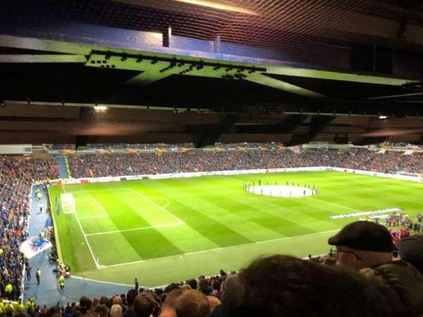 Ibrox Stadium, sección: MRT, fila: G, asiento: 289