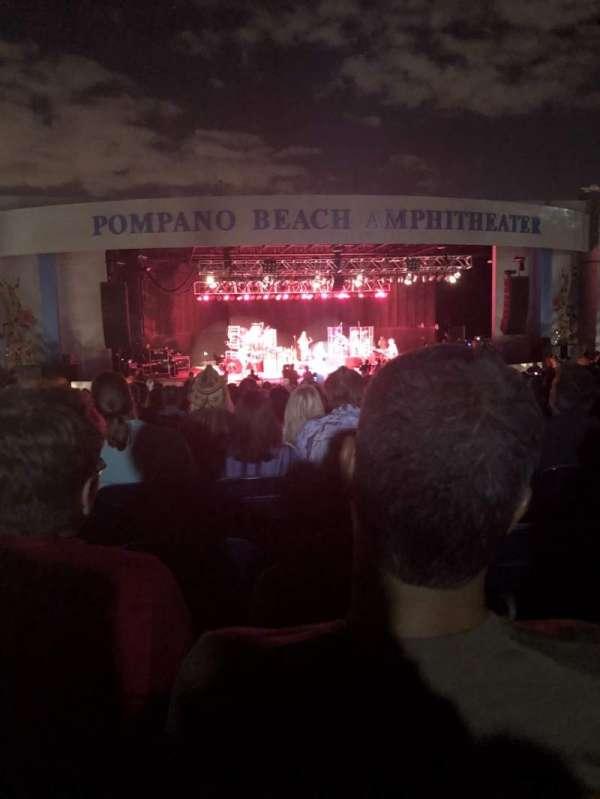 Pompano Beach Amphitheater, sección: B, fila: 24, asiento: 40