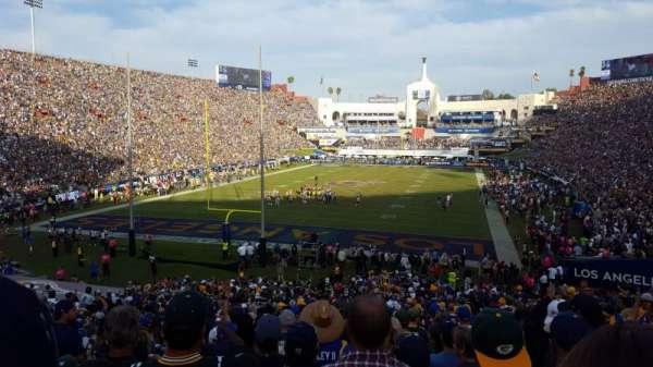 Los Angeles Memorial Coliseum, sección: 13L, fila: 36, asiento: 10