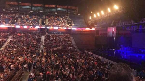 Mohegan Sun Arena, sección: 15, fila: P, asiento: 20