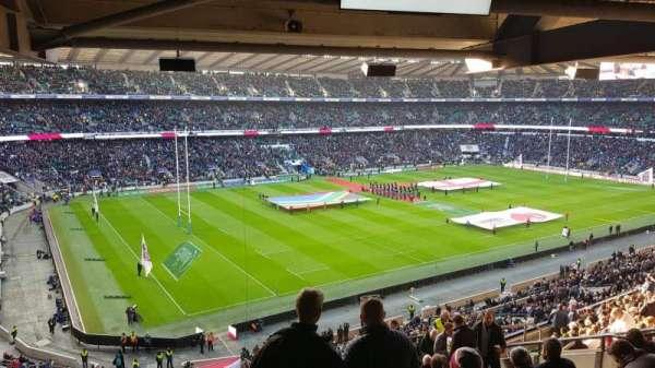 Twickenham Stadium, sección: M38, fila: 72, asiento: 406