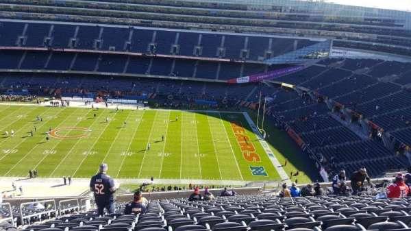 Soldier Field, sección: 434, fila: 20, asiento: 5
