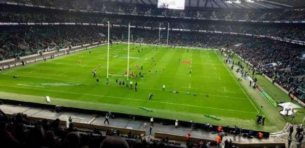 Twickenham Stadium, sección: M19, fila: 65, asiento: 91