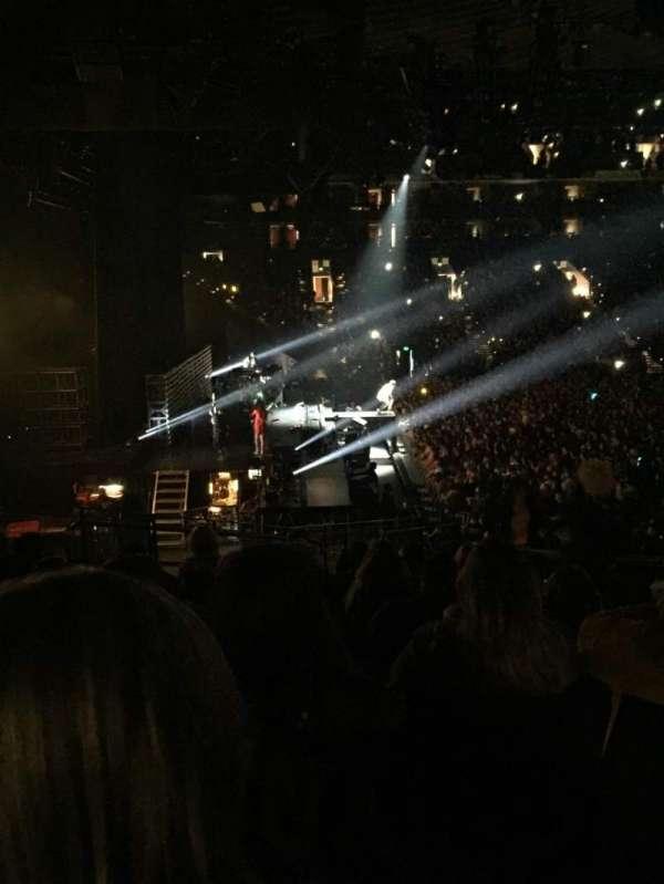 Oracle Arena, sección: 217, fila: 19, asiento: 1