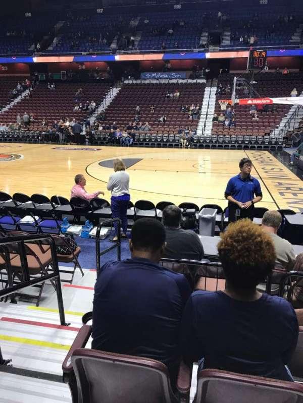 Mohegan Sun Arena, sección: 14, fila: F, asiento: 11
