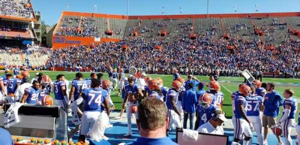 Ben Hill Griffin Stadium, sección: 10, fila: 3, asiento: 15
