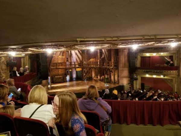 CIBC Theatre, sección: Dress Circle L, fila: D, asiento: 3