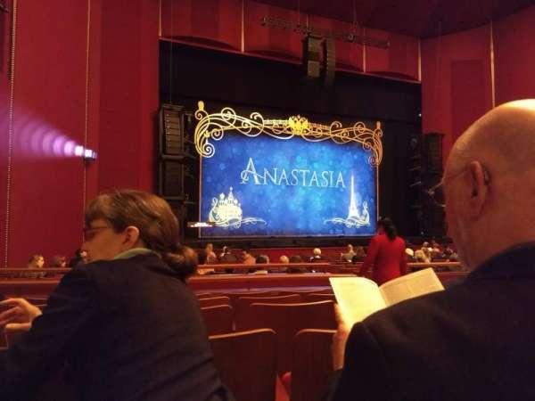 The Kennedy Center Opera House, sección: Orchestra, fila: W, asiento: 7