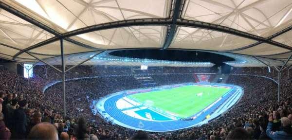 Olympiastadion, sección: 33.2, fila: 26, asiento: 1