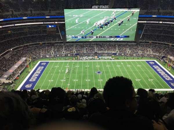 AT&T Stadium, sección: 443, fila: 29, asiento: 20
