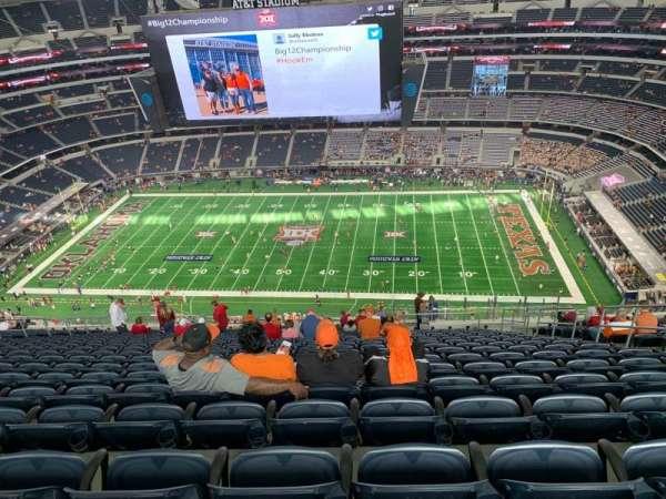 AT&T Stadium, sección: 411, fila: 28, asiento: 8
