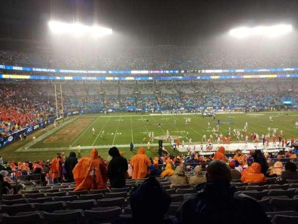 Bank of America Stadium, sección: 318, fila: 14, asiento: 14