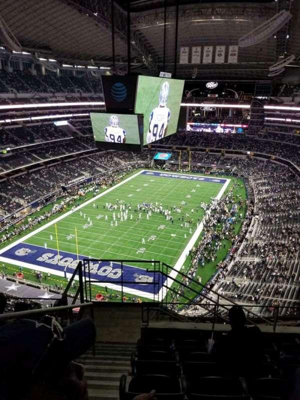 AT&T Stadium, sección: 423, fila: 14, asiento: 20