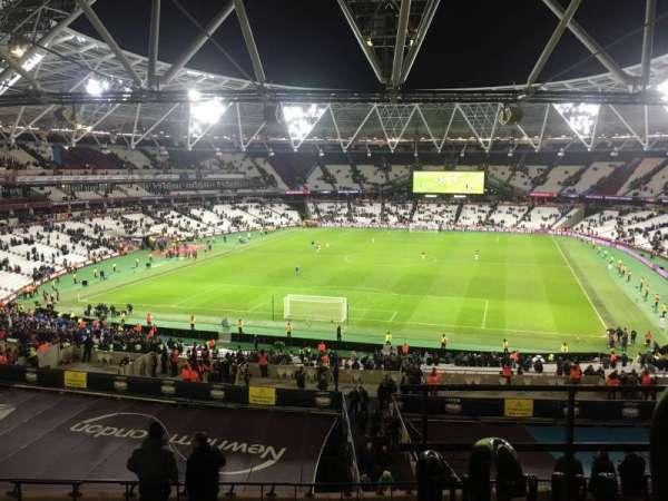 London Stadium, sección: 224, fila: 53, asiento: 812