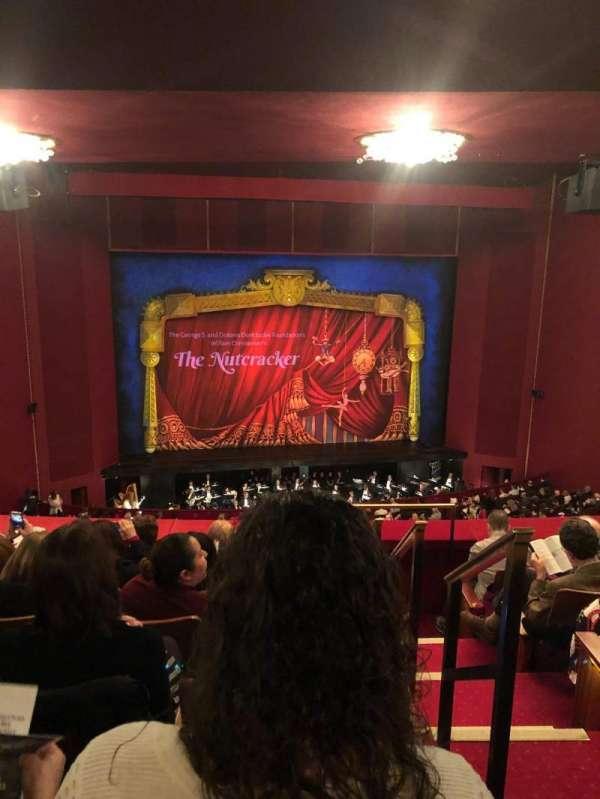 The Kennedy Center Opera House, sección: First Tier-Left, fila: F, asiento: 101
