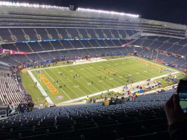 Soldier Field, sección: 443, fila: 34, asiento: 7