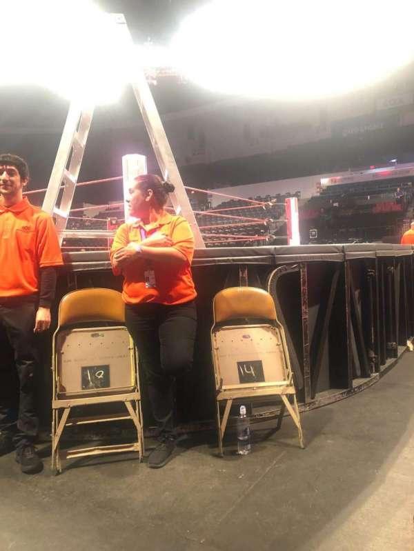 Pechanga Arena, sección: FL G, fila: 1, asiento: 13