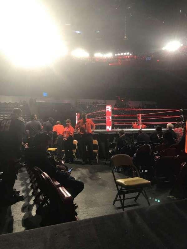 Pechanga Arena, sección: Ll14, fila: 1, asiento: 6