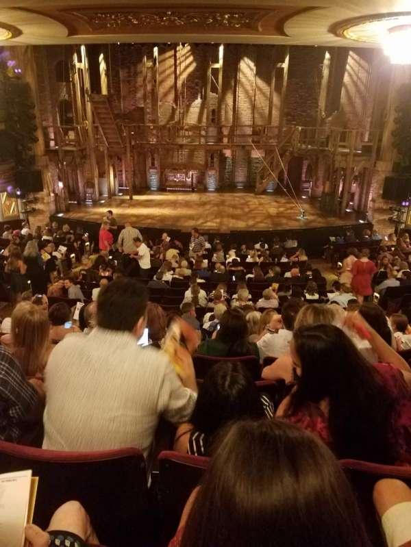 Richard Rodgers Theatre, sección: ORCHESTRA C, fila: S, asiento: 106