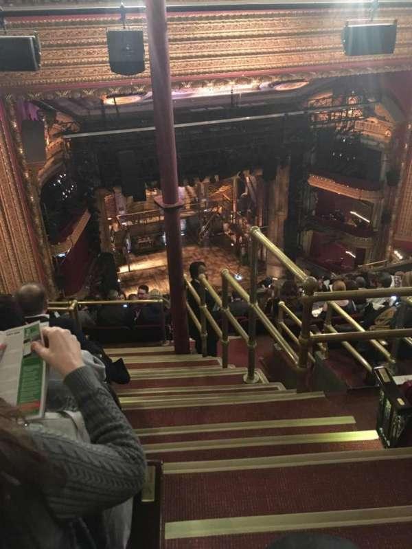 CIBC Theatre, sección: Balcony L, fila: N, asiento: 1