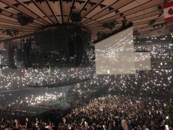 Madison Square Garden, sección: 119, fila: 22, asiento: 12