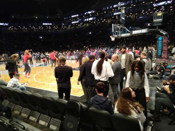 Barclays Center, sección: 19, fila: D, asiento: 13