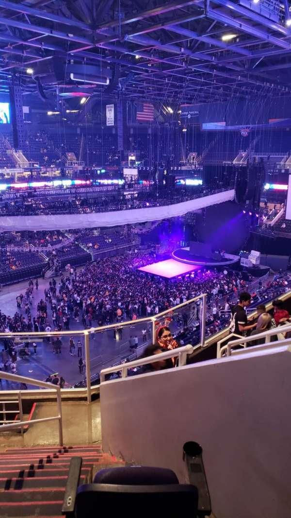 Talking Stick Resort Arena, sección: 206, fila: 7, asiento: 10