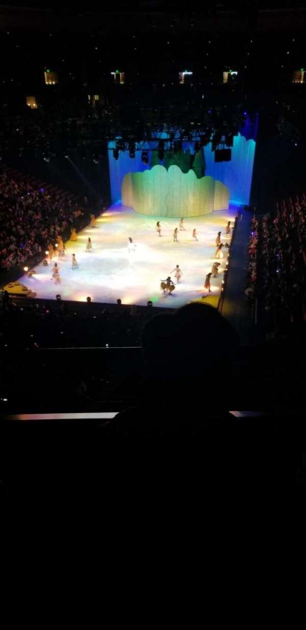 Honda Center, sección: 443, fila: B, asiento: 8