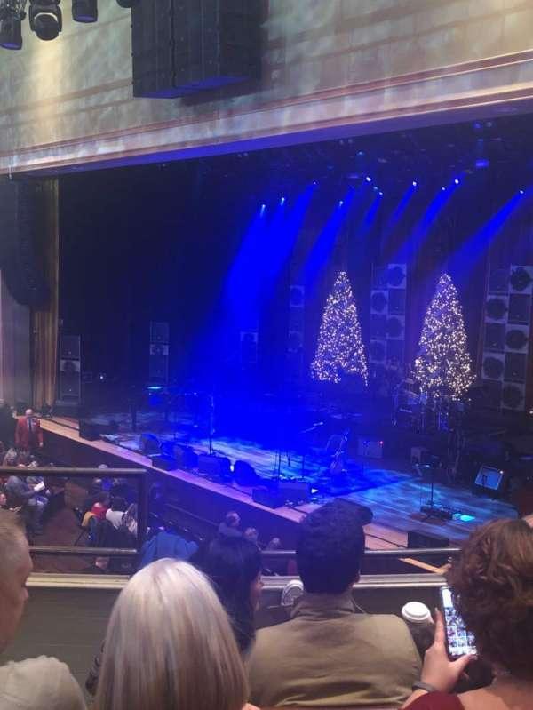 Ryman Auditorium, sección: Bal-10, fila: D, asiento: 7