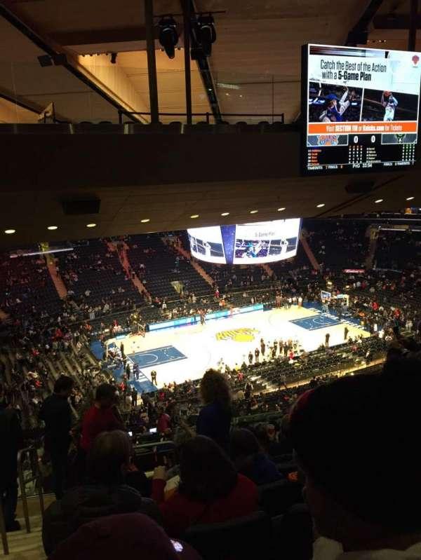 Madison Square Garden, sección: 222, fila: 18, asiento: 1