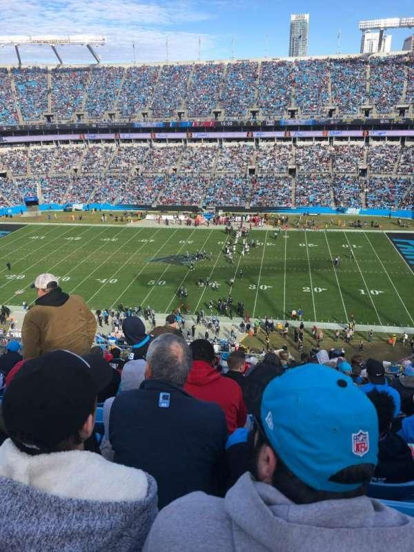 Bank of America Stadium, sección: 540, fila: 10, asiento: 11