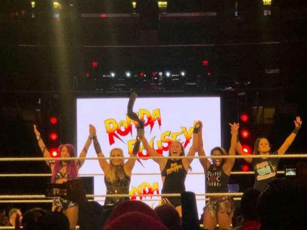 Madison Square Garden, sección: B, fila: 11, asiento: 12
