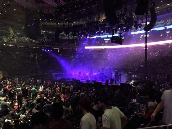 Madison Square Garden, sección: 107, fila: 5, asiento: 12