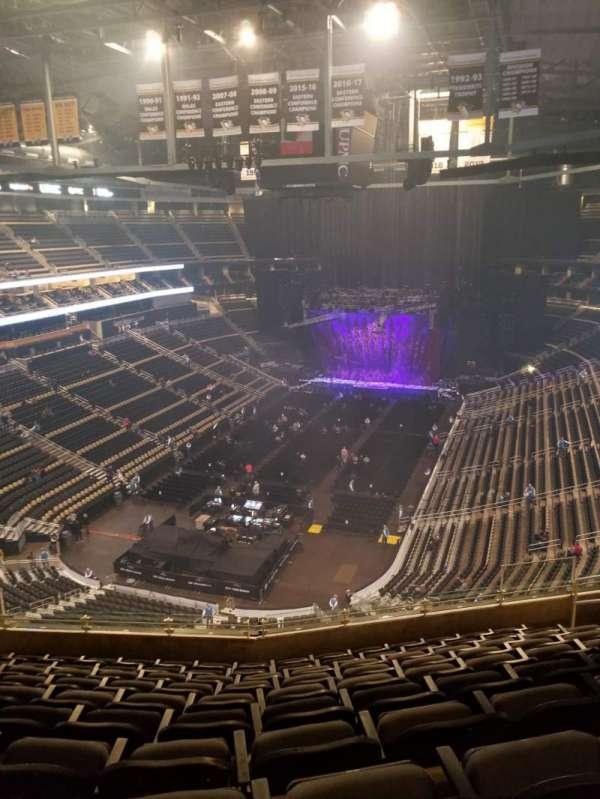 PPG Paints Arena, sección: 209, fila: K, asiento: 9