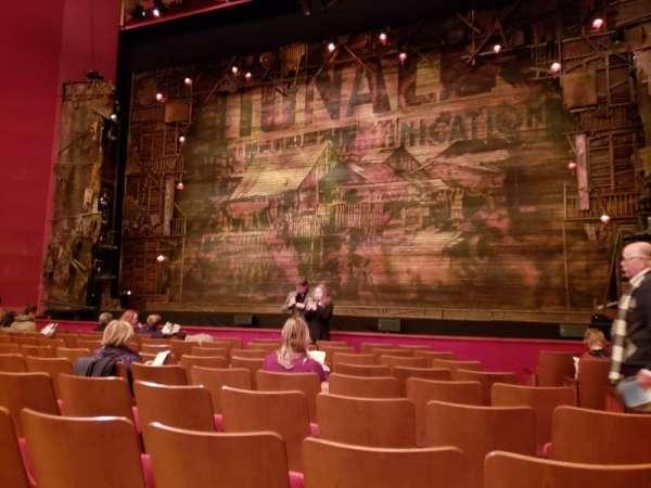 The Kennedy Center Opera House, sección: Orchestra, fila: N, asiento: 104