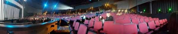 Zappos Theater, sección: 105, fila: A, asiento: 5