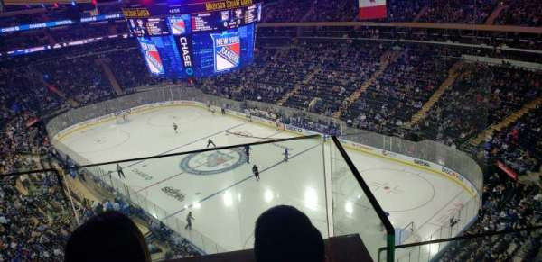 Madison Square Garden, sección: 301, fila: 2, asiento: 15