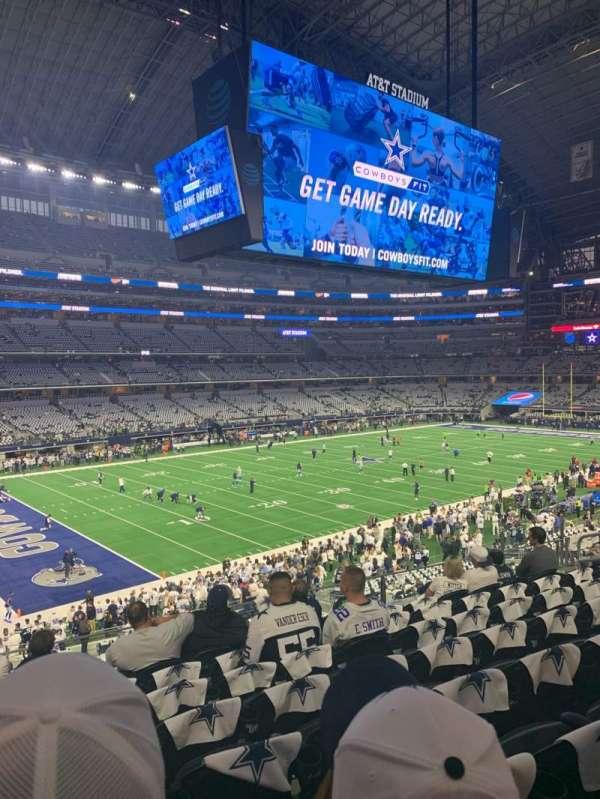 AT&T Stadium, sección: 216, fila: 8