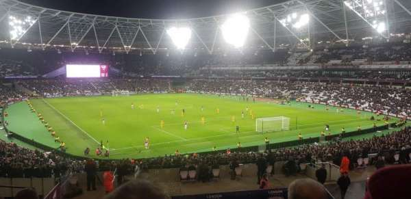 London Stadium, sección: 245, fila: 37