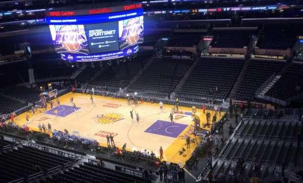 Staples Center, sección: 332, fila: 8, asiento: 6